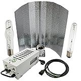 Cultivalley 600W Grow-Set, Equipo Profesional de iluminación de Plantas, Plug & Play con Bombilla de Alta presión de Sodio NDL HPS para floración y lámpara de haluro de Metal Luz de Crecimiento MH