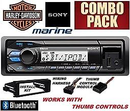 Sony 1998-2013 Harley Davidson Bluetooth Stereo & Installation Combo