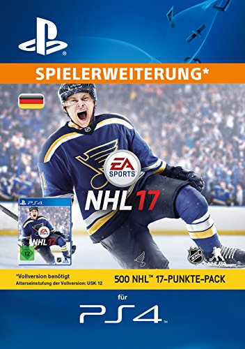 500 NHL 17 Punkte-Pack [PS4 PSN Code - deutsches Konto]