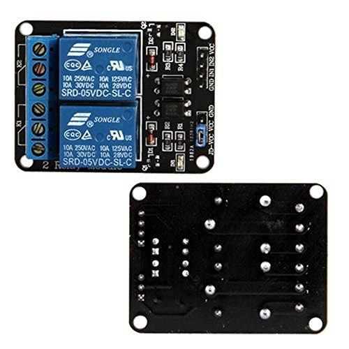 Ecloud Shop 2-Canal Modulo rele para Arduino Arm PIC AVR DSP PLC...