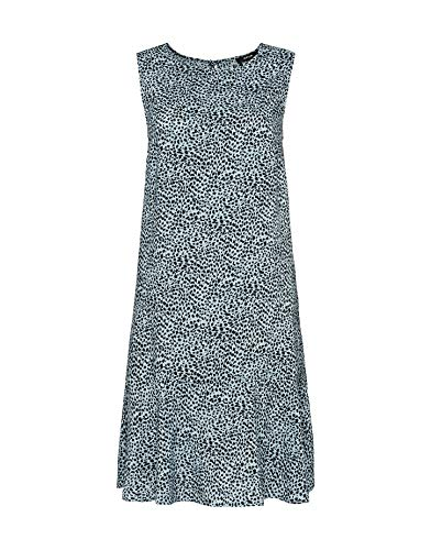 Opus Damen Wenola Animal Kleid, Forever Blue, 36