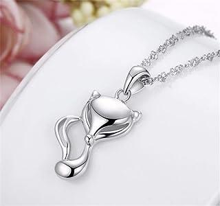 99e4c52f27d8b0 Collana pendente di moda animale volpe per donna ragazza bella choker  collane collane gioielli