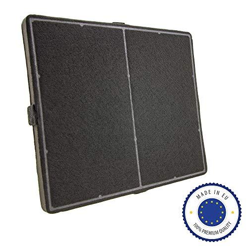 ersatzteilshop basics Premium Aktivkohlefilter Geruchsfilter für Dunstabzug - passend wie Miele DKF 12, DKF12