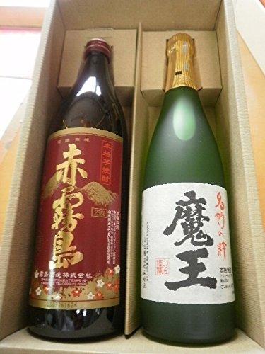 芋焼酎 魔王720mlと赤霧島900mlセット