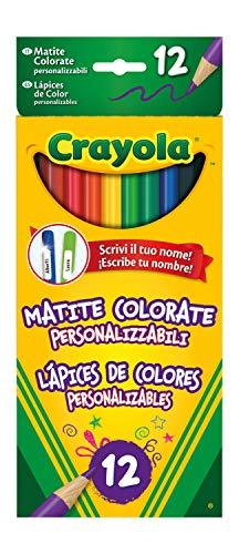 Crayola 3620 - 12 Lápices de Colores Personalizables , Mode