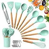 Tatufy Kit ustensiles de Cuisine, 12pcs Set Ustensiles de Cuisine Non Toxique...