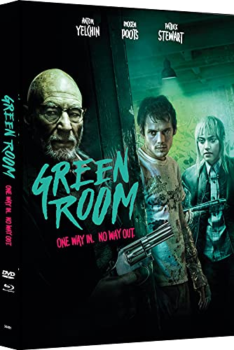 Green Room - 2-Disc Mediabook - Cover C - Limited Edition auf 333 Stück (+ DVD) [Blu-ray]