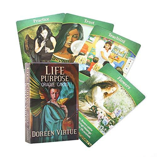 Lebenszweck Orakelkarten Tarot Deck Karten lesen die mythische Schicksals Weissagung für Glücksspiele