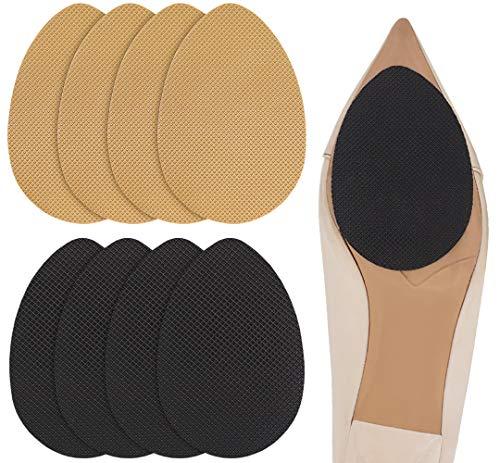Dr. Shoesert Non-Slip Shoes Pads Adhesive Shoe Sole Protectors, High Heels Anti-Slip Shoe Grips (Yellow + Black)