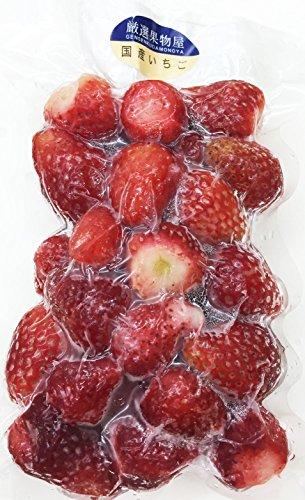 冷凍いちご 国産(徳島、和歌山など) 250g 冷凍ストロベリー(国産) 【消費税込み】