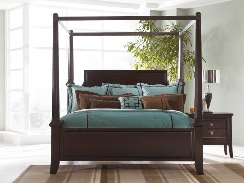 Hot Sale Ashley Millennium - Martini Suite King Poster Bed with Canopy