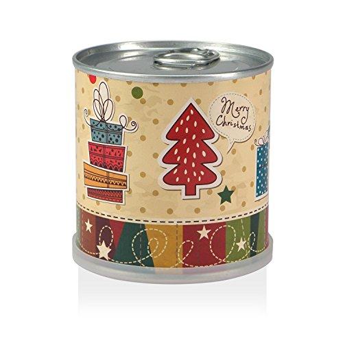 MacFlowers Weihnachtsbaum in der Dose - Merry Christmas nostalgisch