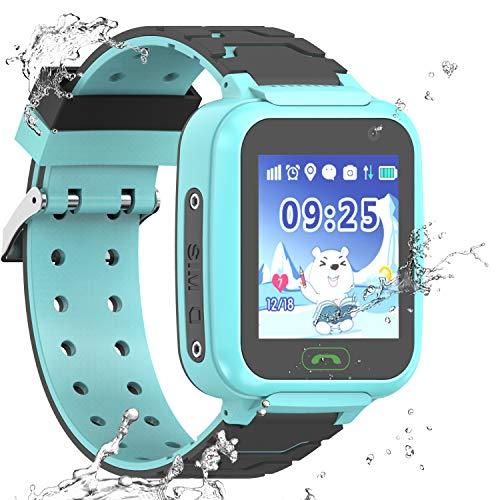 PTHTECHUS Reloj Inteligente a Prueba de Agua GPS Tracker par