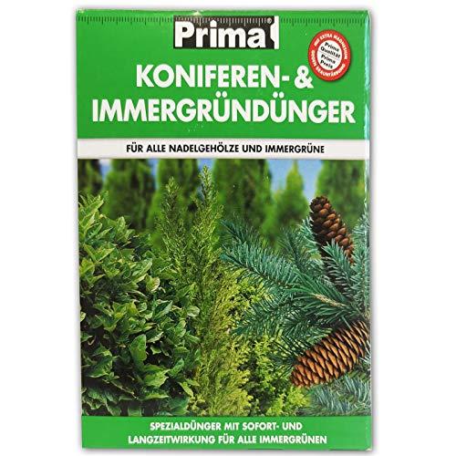 PRIMA Koniferen- & Immergründünger, NPK-Dünger 7+4+7, organisch-mineralisch kombiniert, 2,5 kg