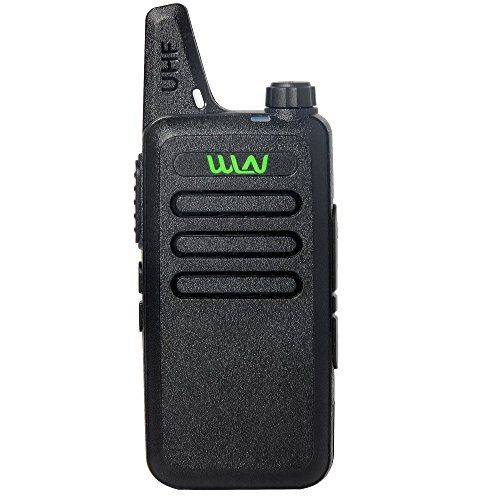 UHF 400-470 MHz MINI-handheld WLN KD-C1 Walkie Talkie Transceiver Radio …