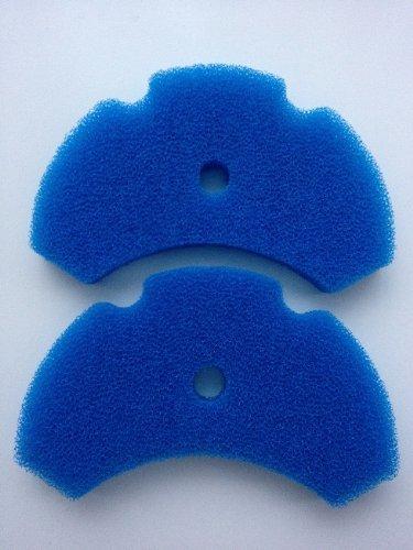 Schaumstoff-Filter-Pads für Hozelock Teichfilter EasyClear 3000 / 6000 / 9000, kompatibel, 2 Stück