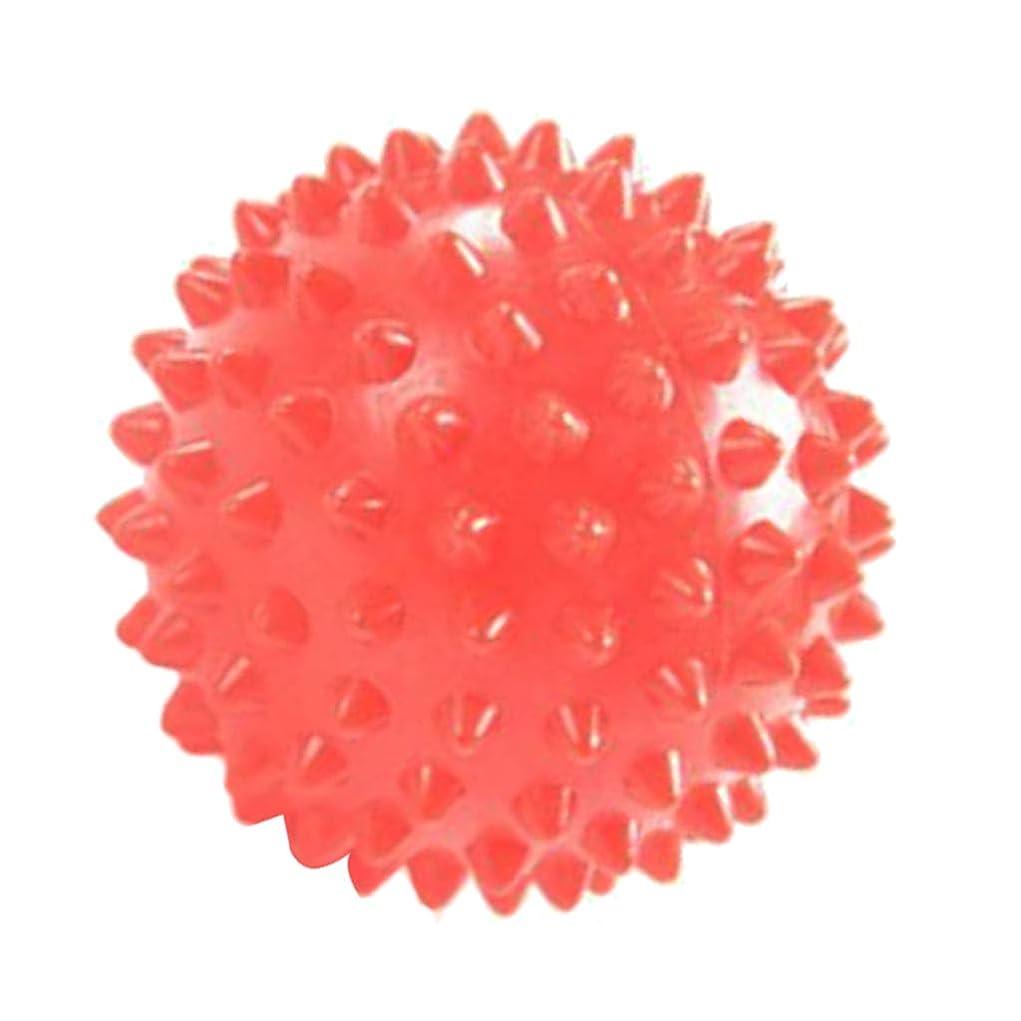 去る家族猛烈なD DOLITY マッサージローラー マッサージボール 触覚ボール リハビリ ヨガ練習 7cm オレンジ