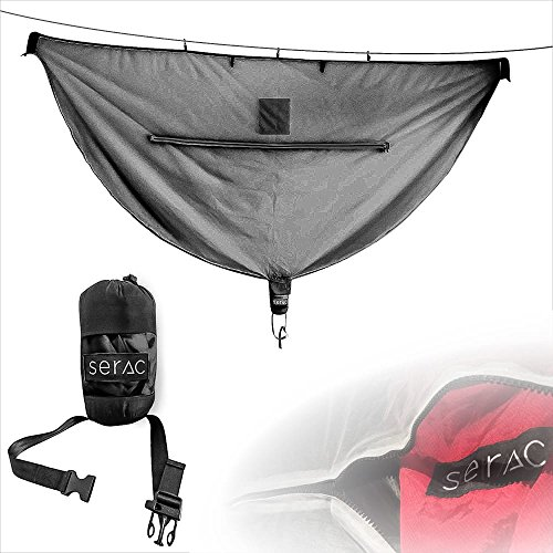 Serac [#1 Hammock Mosquito Net Camping Hammock Bug Net - Perfect for backpacking, camp and travel by