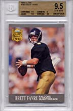 fleer brett favre rookie card