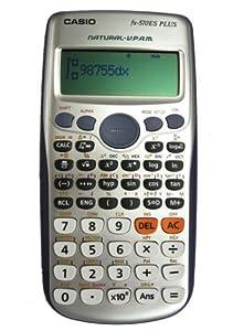 Casio FX-570es Fx570es Plus 2-línea científica Marix Vector cálculos calculadora con 417 funciones de edición limitada.