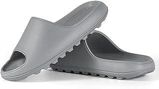 Pillow Slides Slippers for Women and Men, EVA Open Toe Soft Slippers, Quick Drying Non-Slip Soft Shower Spa Bath Pool Gym ...