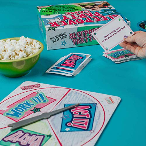 Sleepover Party - The Party You Play - Activity Game for Kids Ages 8 and Up