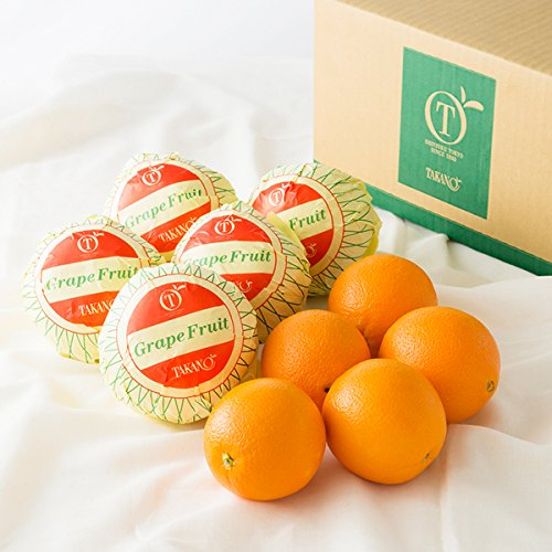 新宿高野 Day Fruit デイフルーツ デイフルーツ シトラス #29100 [グレープフルーツ×5/オレンジ×5] フルーツ 果物 詰め合わせ セット 父の日ギフト お中元