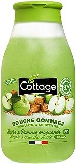 Cottage Douche Gommage - Sucre & Pomme croquante BIO - 97% d'ingrédients d'origine naturelle