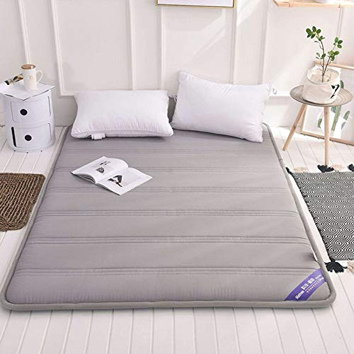 Tatami Mattress, Japanese-style Futon Folding Soft Comfortable Breathable Floor Mat for Living Room Bedroom Play Games Relax-Gray-120x200cm(47x79Inch)