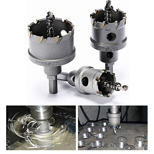 Best bit, 1Pcs 16-100mm K10 Carbide Tip HSS Drills Bit Hole Saw Cutter For Stainless Steel (Color : 20mm)