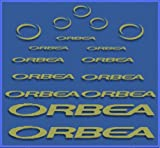 Ecoshirt U5-8ASR-6W3G Pegatinas Orbea DR04 Vinilo Adesivi Decal Aufkleber Клей MTB Stickers Bike, Oro