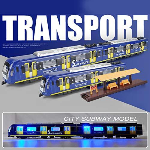 Matuke - Startersets für Modelleisenbahnen in Blau, Größe 30 x 30 x 5cm