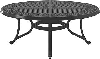Ashley Furniture Signature Design - Burnella Outdoor Coffee Table - Lattice Top - Brown