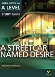 A Streetcar Named Desire: York Notes for A-level: everything you need to catch up, study and prepare for 2021 assessments and 2022 exams (York Notes Advanced)