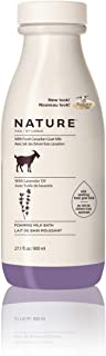 Nature by Canus Foaming Milk Bath with Fresh Canadian Goat Milk, Lavender Oil, 27.1 Fluid Ounce