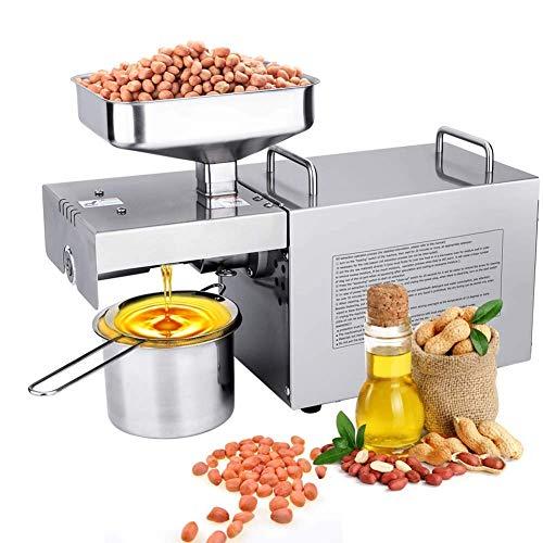 Automatische Öl-Presse-Maschine Nüsse Samen Öl Presser Kalte Hot Press All-Edelstahl-Öl-Extractor