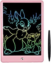 FLUESTON LCD Writing Tablet 10 Inch Drawing Tablet for Kids, Colorful Screen Doodle Board and Kids Drawing Pad for Ages 2+.