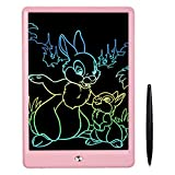 FLUESTON LCD Writing Tablet 10 Inch Drawing Tablet for Kids, Colorful Screen Doodle Board and Kids...