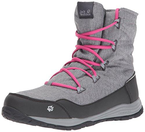 Jack Wolfskin Jack Wolfskin Mädchen Portland Boot G Trekking-& Wanderstiefel, Grau (Phantom 6350), 33 EU