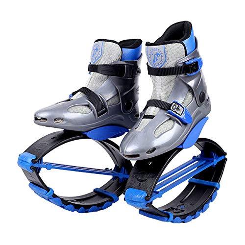 Unisex-Antigravitationlaufstiefel für Erwachsene, zum Rennen, Springen und Hüpfen, mit ca. 20 bis 100kg belastbar L blau
