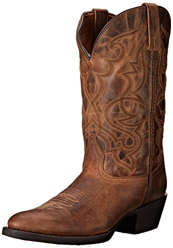 Laredo Womens Tan Maddie Western Cowboy Boots Leather 7 M