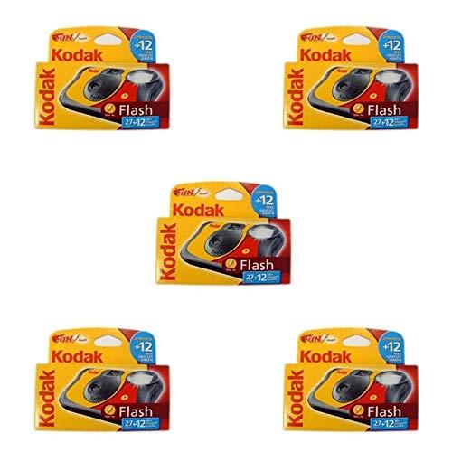 Kodak Fun Flash Lot de 5appareils photo jetables 39poses