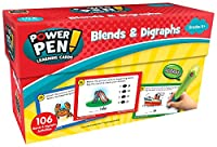 (Blends & Digraphs) - Teacher Created Resources Power Pen Learning Cards: Blends & Digraphs
