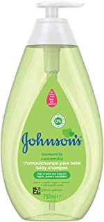 Johnson's Baby Champú Camomila, ideal para toda la familia - 750 ml