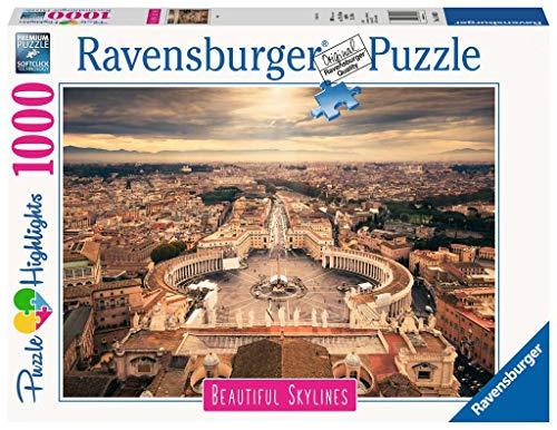 Ravensburger 14082 Rome, Puzzle 1000 Pezzi, Collezione Beautiful Skylines, Puzzle da Adulti
