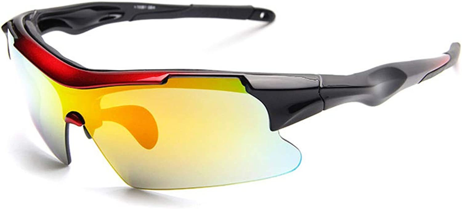 Yxx max Sports Cycling Glasses, Polarized Sunglasses, Men And Women Sandproof Outdoor Riding Eye Predection