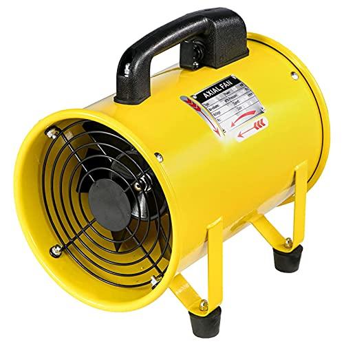 MIAOKU 16 Pulgadas Extractor de Aire 520 W con Ventilador de Cilindro de Modo de Dos velocidades, 1020-1500 M3 / H Ventilador de Espacio confinado, para soplador de ventilación de fábricas