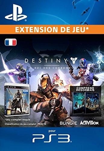 Destiny : Le Roi des Corrompus [Extension De Jeu] [Code Jeu PSN PS3 - Compte français]