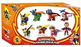 HS Enterprise™ Pup Buddies Power Petrol Action Figure Toy Ultimate Rescue Police Cruiser with Pretend Play Set for Kids Action Figure Pup & Badge, Ryder, Tracker, Robot Dog, Everest, Team Mission Toy Best Gift For Child