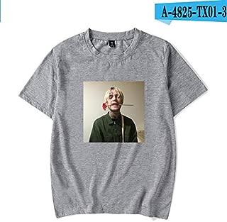 15 COLOR Lil Peep T Shirts Summer Cotton O-Neck Black Short Sleeve Plain Basic T Shirts For Printing Punk Rock Hip Hop Tops Tee Lil Peep